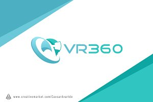Virtual Reality 360 Logo Template