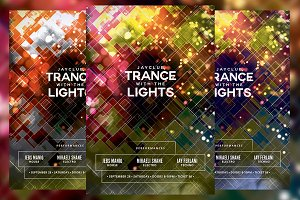 Trance with the Lights Party Flyer