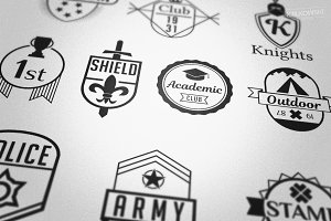 Emblem Badge like Logos