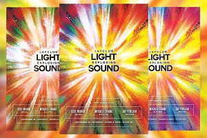 Light Explosion Sound Flyer