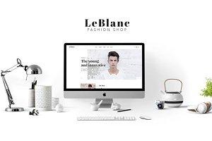 Leo Leblanc Responsive Prestashop