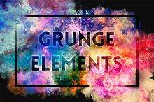 Grunge Elements (Extended License)