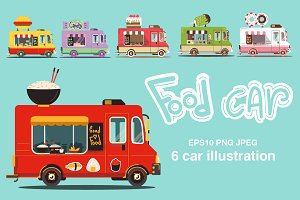 Food car set  3