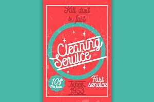 Color vintage cleaning service