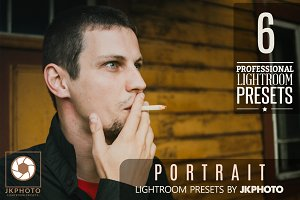 6 Portrait Lightroom Presets