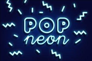 POP NEON STYLE