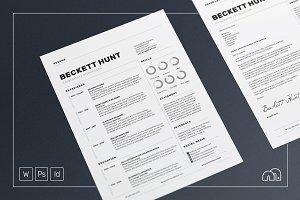 Resume/CV - Beckett