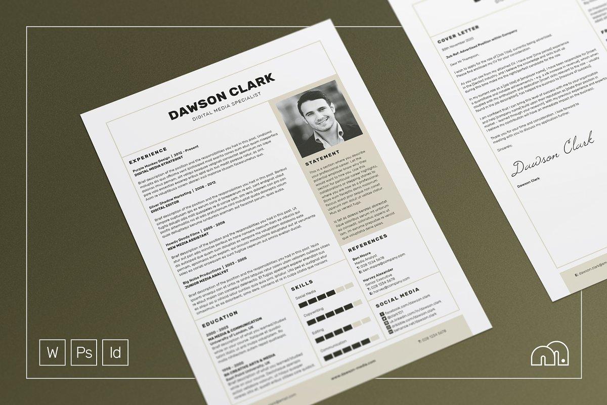 Resume/CV - Dawson