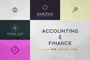 Accounting & Finance icons and logos