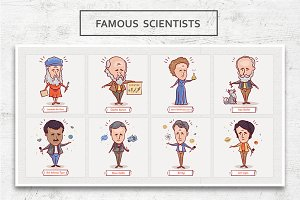 Famous scientists • Volume 2