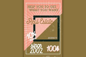 real estate agency banner