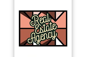 real estate agency emblem