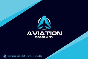 Aviation Logo Template