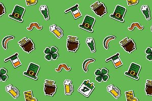 St.Patricks Day pattern