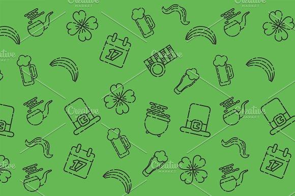 St.Patricks Day Pattern