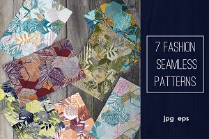 Fashion seamless patterns