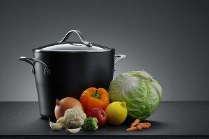 pot and veggie