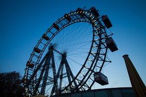 Big  ferris wheel city park