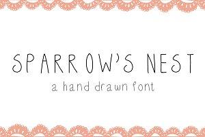 Sparrow's Nest Font