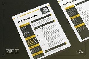 Resume/CV - Slater