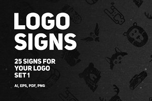 Set 1 | 25 signs for your logo