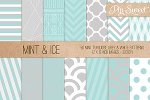 Mint & Ice 50 Pattern Set