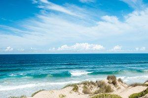 Dunes and Indian Ocean