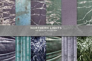 Northern Lights: Silver Foil Marbles