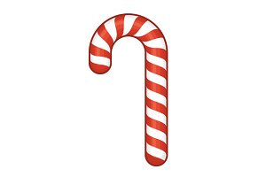 Red Candy Cane Set