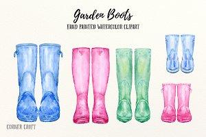 Garden Boots Clipart