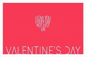Valentines Day Vintage Poster