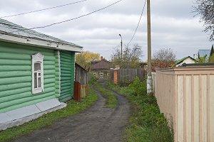 Small street in Kolomna.