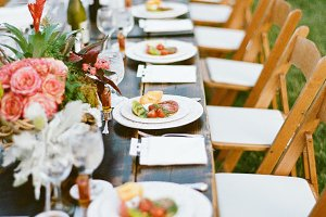 Farm Table Dinner Party