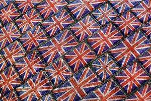England Urban Grunge Pattern