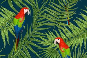 Exotic tropical pattern