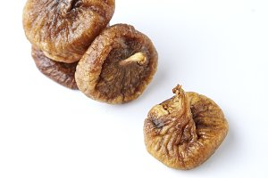 some fruits of dried fig