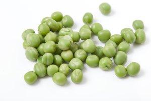 Ripe pea vegetable