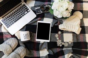 Blanket Styled Stock Photo iPad