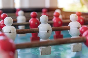 Soccer table football game