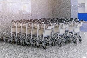 Trolley for luggage or baggage
