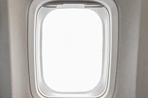 windows Airplane in cabin