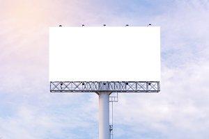 billboard ready for advertisement