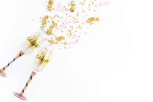 Party and Confetti Stock Photography