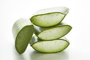 Aloe vera sliced