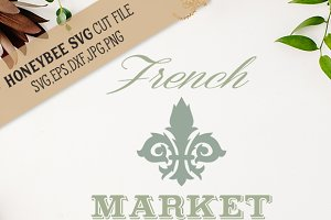 French Market cut file