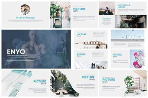 Enyo Creative Powerpoint Template