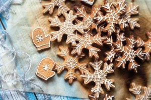 Christmas festive gingerbread
