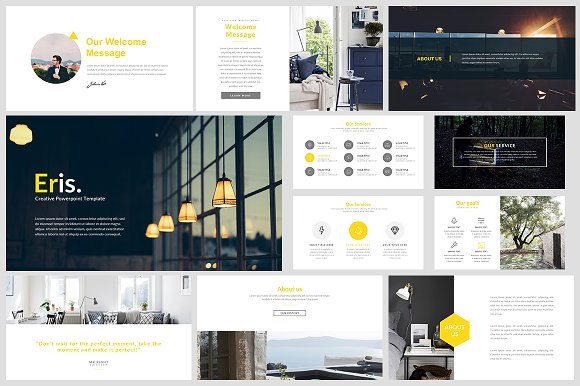 eris keynote template presentation templates creative market