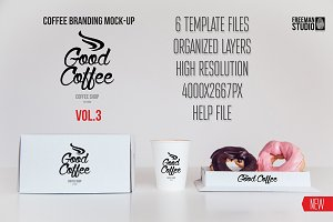 Coffee Branding Mock-up Vol 3
