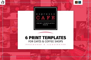 Café Menu Template Pack